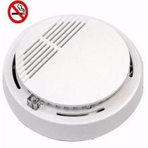 Sensor Detector De Humo Autónomo Inalámbrico 9 Volts Alarma