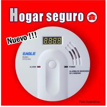Detector De Monóxido De Carbono Con Led, Importador Directo.