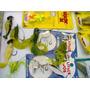 Señuelos Dorados Tararira Kit Jigs +1 Soft Lure Bonificado
