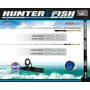Caña Marine Sports Hunter Fish Big Game 12-30 Lbs 1.68 Mts