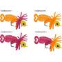 Señuelo Spinit Modelo Jighlander, Ideal Peces Depredadores