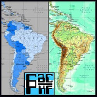 Atlas Vectorizado Mapa Vectorial Fisico Politico Continente