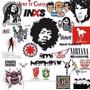 Logos Vector Bandas Musicales Rock Vectorizados Env.gratis