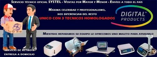 Servicio Técnico Oficial Systel Balanzas Cortadoras Fiambre