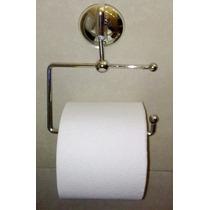 Accesorio Baño Porta Papel Higienico-no Se Perforar La Pared