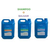 Shampoo Balsam Nov Keratina Hidrolizada Argan Lino 4800 Ml