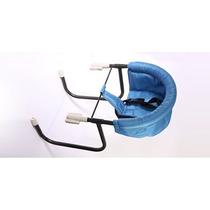 Silla De Comer Bebe Aerea Práctica Segura Plegable Cinturon