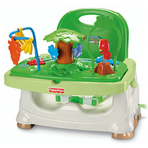 Silla D Comer Bebe Booster Fisher Price Rainforest Babymovil