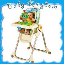 Nueva Silla Comer Bebe-chicos Con Musica,luz,juegos,juguetes