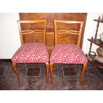 Par de sillas luis xv estilo clasico modernizado for Muebles estilo nordico buenos aires