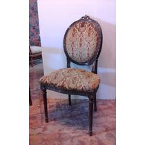 Antigua Silla Estilo Frances Luis Xvi A Restaurar