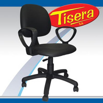 Sillon ergonomico oficina sillas con ruedas en muebles for Sillas ergonomicas para pc