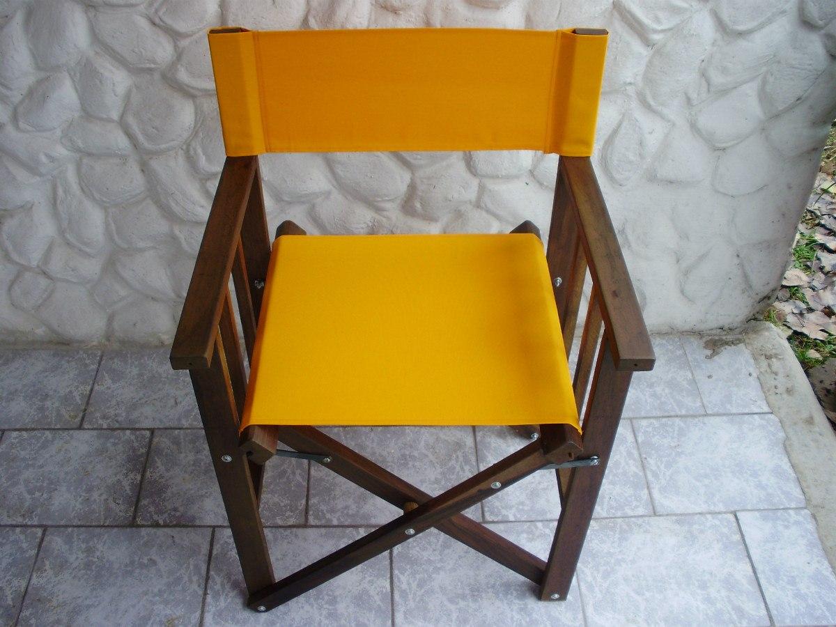 Decoracion mueble sofa sillon de director for Silla director ikea