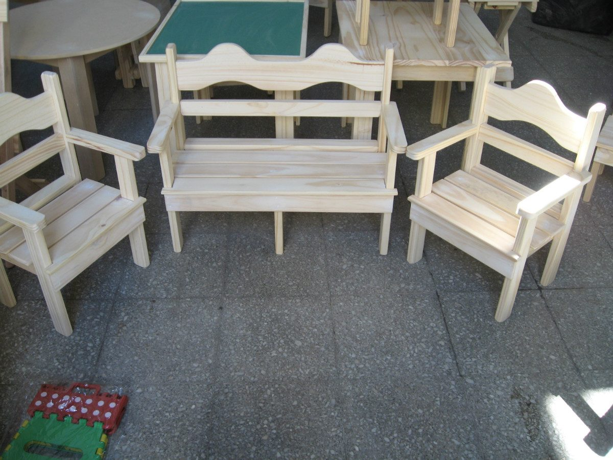 Mesitas de madera para ni os imagui - Mesas madera ninos ...
