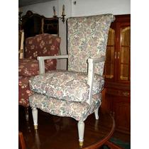Sillon Ingles De Dormitorio Antiguo O Sala No Frances Luisxv