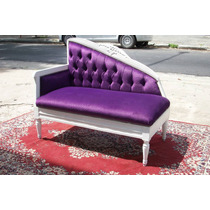 Chaise Longue Sillon Sofa 2 Cuerpos Living Ingles Frances