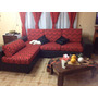 Sillon Esquinero Talampaya Y Chenille Sofa De 2,50 X 1,80