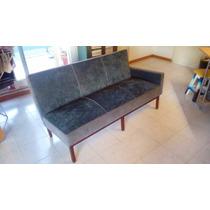 Sillón Divan Sofá Vintage Retro 3 Cuerpos