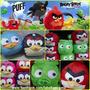 Puff Fiaca Angry Birds Kitty Minions Dia Del Niño