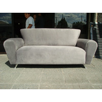 Sillon Sofa 3c Moderno Tela, Chenille, Pana O Talampaya