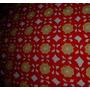 Antiguo Cubre Sillon-pie Cama-colcha Crochet Tejida Mano