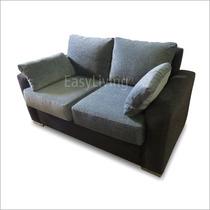 Sofa Sillon 2 Cuerpos Linea Premium Placa Asiento 18 Cm