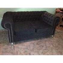 Sofa Chester, 2 O 3 Cuerpos Original ,fabrico Rosario