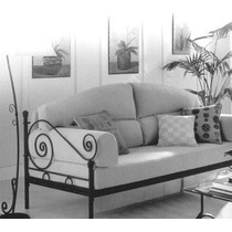 Sillon Sofa Cama En Hierro Forjado Fabrica Oferta