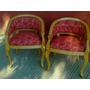 Hermoso Sillon Reina Ana Lustre Y Tapizado A Pedido Cliente
