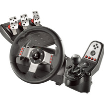 Volante Logitech G27 Racing Whell Pedal Caja 6ta Pc Ps2 Ps3