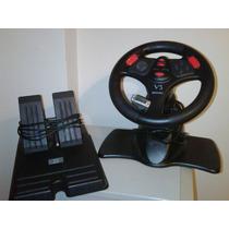 Volante Y Pedalera Racing Wheel V3
