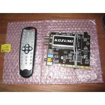 Capturadora De Video Kozumi Chip Bt878 Ktv-d1c