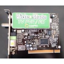 Placa Sintonizadora Capturadora Tv Pvr/fm