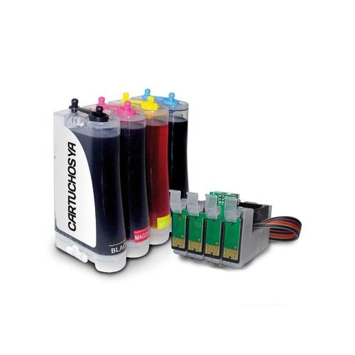Sistema Continuo Para Impresora Epson Tx135 Tx125 T25