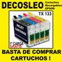 Cartuchos Recargables Epson Tx 135 La Primera Carga Gratis