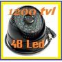 Camara Domo 1200tvl 48 Led Infrarrojos Excelente Definición