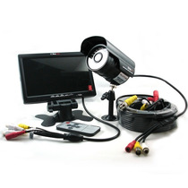 Kit Vigilancia Cctv Pronext Prok77c Monitor Lcd +1 Cámara