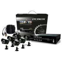 Kit De Seguridad Dvr 8 Can 6 Cámaras Ir Ext/int. Disco 500gb
