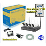 Kit 4 Camaras Inalambricas + Nvr Con Disco 1tb Incluido