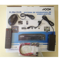 Kit 4 Cámaras Seguridad Cctv Dvr 8 Pal Int/ext Completisimo!