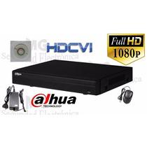 Dvr Hdcvi Tribrid 4 Canales Con 4 Audio Hcvr5104he-s2 Dahua