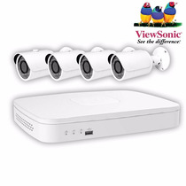 Kit Camaras De Seguridad Viewsonic Autoinstalable