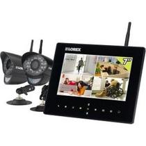 Kit De Seguridad Wireless Lorex Monitor Y Dos Camaras