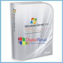 Windows Server 2008 R2 Estandar Licencia Digital + 25 Cals