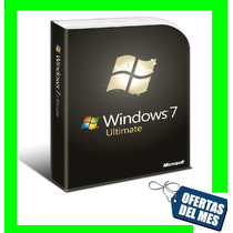 Windows 7 Ultimate 32/64 Bit Retail Licencia Original 3 Pc