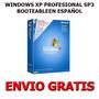 Windows Xp Booteable + Aplicaciones (1 Dvd) + Envio Gratis