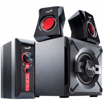 Parlantes Pc Gamer Genius Gx Sw-g 2.1 1250 38w Subwoofer Tv