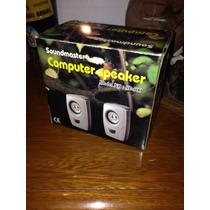 Parlantes Computadora Soundmaster Sp 500 Pmpo 400w !