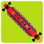 Longboard Ferrari Oficial Maple 9 Capas Skate Abec Ruedas Pu