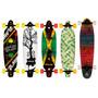 Longboard Completo Kicktail O Bidireccional By Moolahh Skate